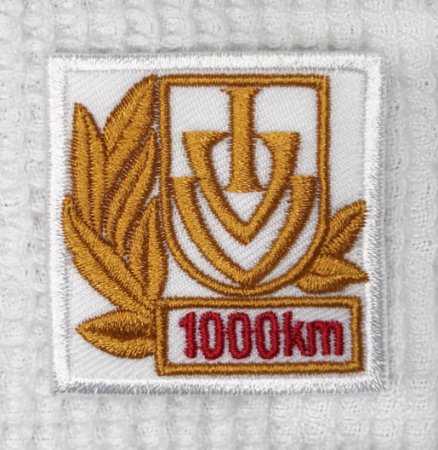 Bordado Comemorativo de 1000 KMS - Anda Brasil / IVV