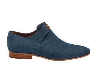 7ef99b974 Sapato mocassim masculino lona jeans - Shop Found