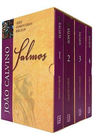 Box: Comentário Bíblico dos Salmos - Vl. 1 a 4 / João Calvino
