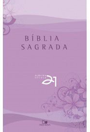 Bíblia Almeida 21 brochura - lilás c/ referências cruzadas / Vida Nova