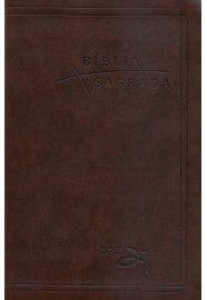 Bíblia Almeida 21 Luxo - Café c/ referências cruzadas / Vida Nova
