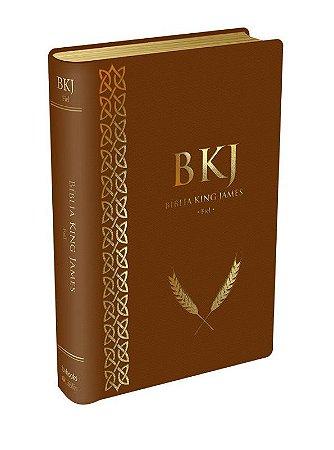 Bíblia King James Fiel - 1611: Luxo - Marrom