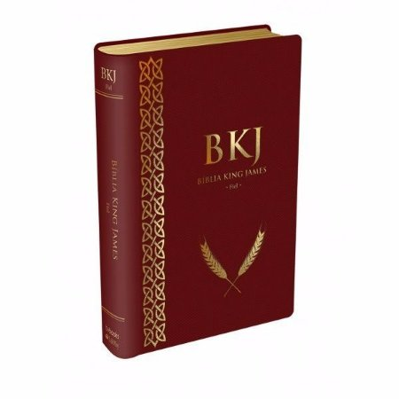 Bíblia King James Fiel - 1611: Luxo - Vinho