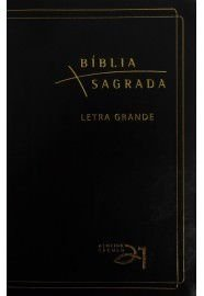 Bíblia Almeida Século 21 letra grande luxo - preta