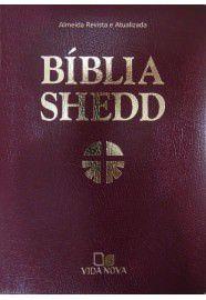 Bíblia Shedd - Covertex Bordô