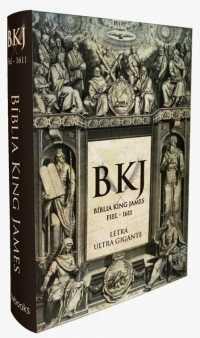 Bíblia King James Fiel - 1611: Letra Ultra Gigante (Capa Dura)