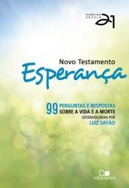 Novo Testamento Esperança - Almeida Século 21 - Capa Verde / Luiz Sayão - Editor