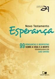 Novo Testamento Esperança - Almeida Século 21 - Capa Laranja / Luiz Sayão - Editor