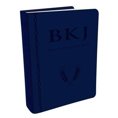 Bíblia de Estudo King James Fiel - 1611 (Luxo Azul)