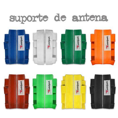 Fita de Suporte para Fixação de Antena de VÔLEI c/ Velcro - Nylon (par)