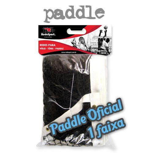 Rede de Paddle Oficial Recreativa Lona em PVC - 1 Faixa (un)