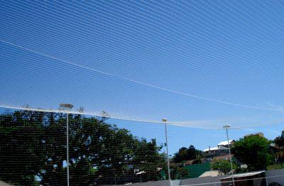 Rede de Proteção para TETO de Quadras Esportivas