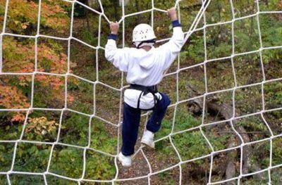 Rede para ESCALADA (parques, árvores, academias...)