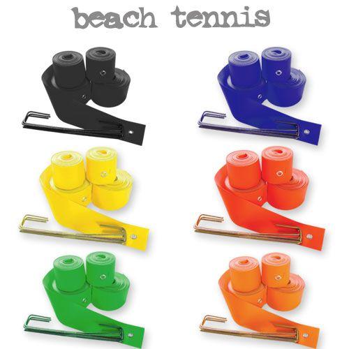 Fita de Marcação Recreativa para Quadra de Beach Tennis - (16x8mts)