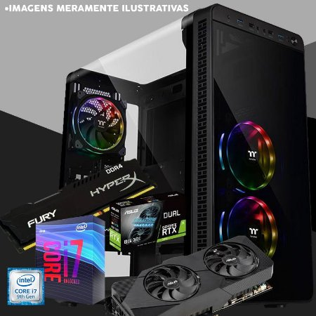 PC GAMER HARD GAMES ULTRAGAMER RTX 2070S 8GB