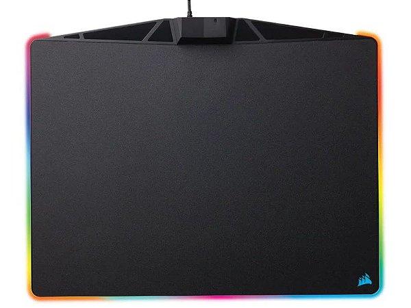MOUSEPAD GAMER CORSAIR MM800 POLARIS RGB RÍGIDO CONTROL MÉDIO 350x260mm CH-9440020-NA