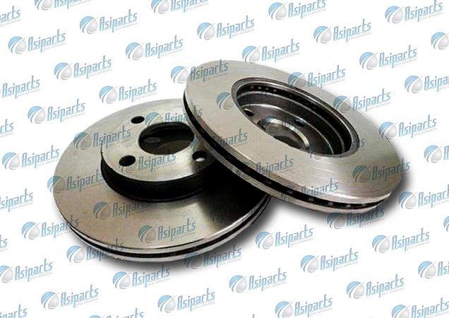 Disco de freio ventilado S/cubo Dianteiro Hyundai HB20 1.6 13>