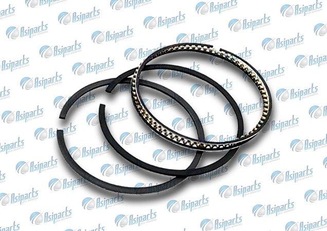 Jogo de anéis de pistão 0,50 Lifan X60/ Toyota Corolla/ Fielder
