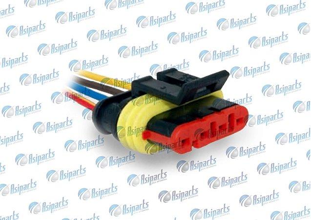 Plug chicote tampa da bomba combustível Chery QQ/ Face/ S18