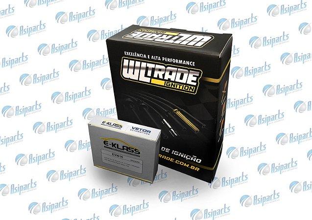Kit de Ignição S10/BLAZER 2.2 8V EFI BOBINA NO BLOCO MOTOR  GAS/GNV 1994>1996