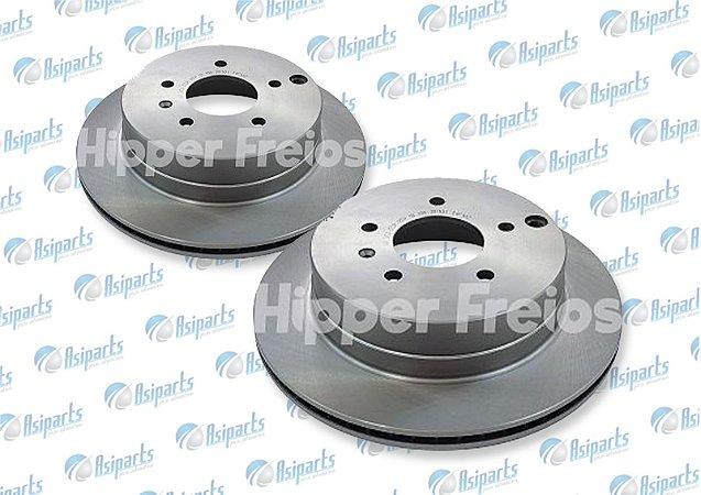 Disco de freio traseiro Chevrolet Captiva - HF26D