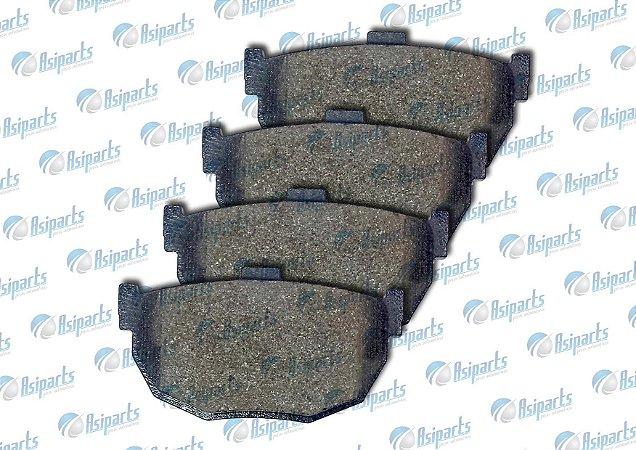 Pastilha de freio traseira Jac J5/ J6/ Kia Cerato - Willtec