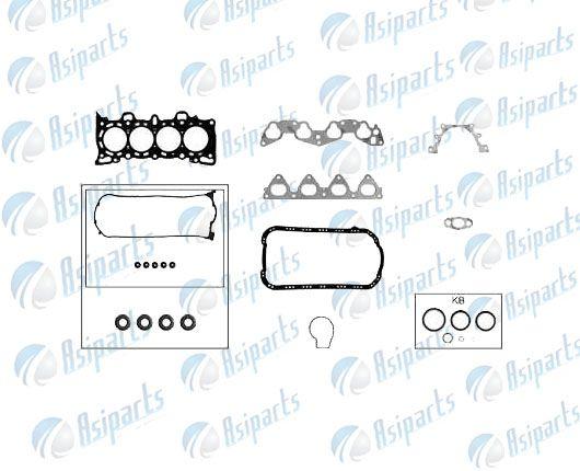 Jogo de juntas sup s/ret Honda Civic LX, CRX 1.5 e 1.6 16V