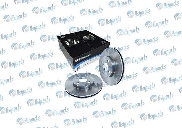 Disco de freio diant. ventilado Chrysler Pt Cruiser 2.0 2.4