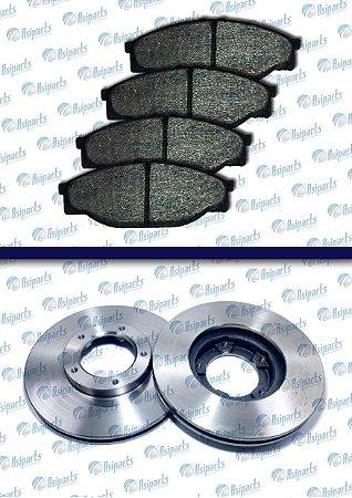 Kit disco e pastilha Topic Jinbei 5 furos s/ABS