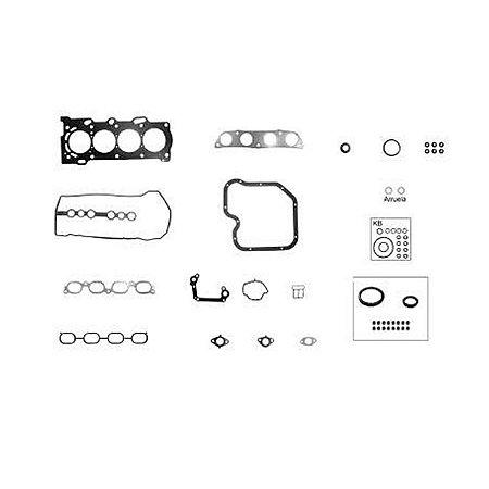 Jogo de juntas completo c/ret Toyota Corolla e Fielder 1.8, 1.6