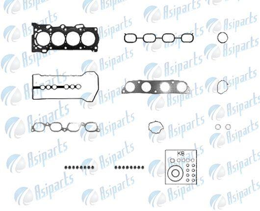 Jogo de juntas completo c/ret Lifan X60, Toyota Corolla e Fielder 1.8, 1.6