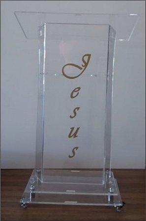 Púlpito em acrílico José Plus