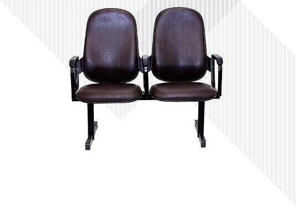 Poltrona Executiva Sobre Longarina 6001 RES Braço - (Valor por cada Cadeira ou Poltrona)