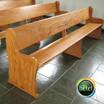 Banco de Madeira Betel 003
