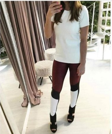 Calça Skinny Couro Eco - Adrieli