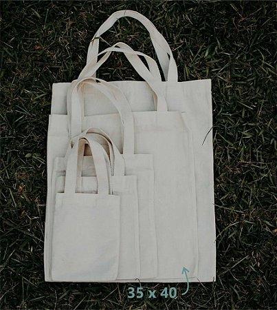 Ecobag 35 cm x 40 cm - Sem Estampa