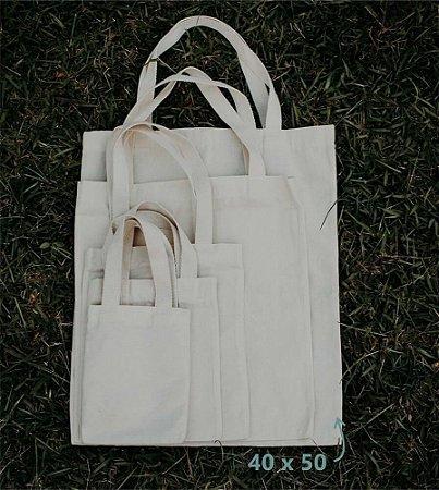 Ecobag 40 cm x 50 cm - Sem Estampa