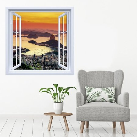 Adesivo de Janela Rio de Janeiro