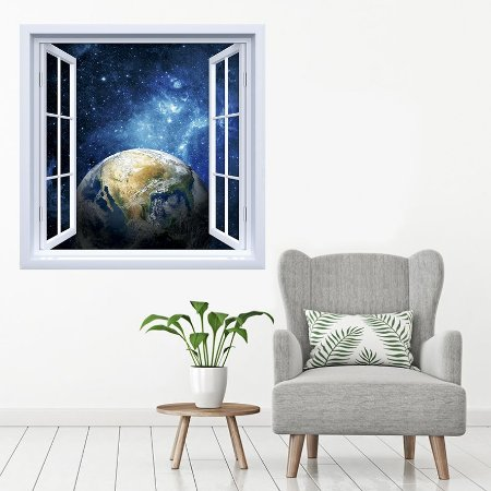 Adesivo de Janela Planeta Terra