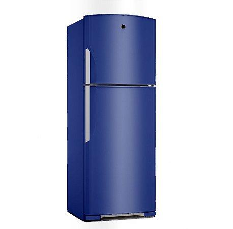 Adesivo Envelopamento para Geladeira - Azul Marinho