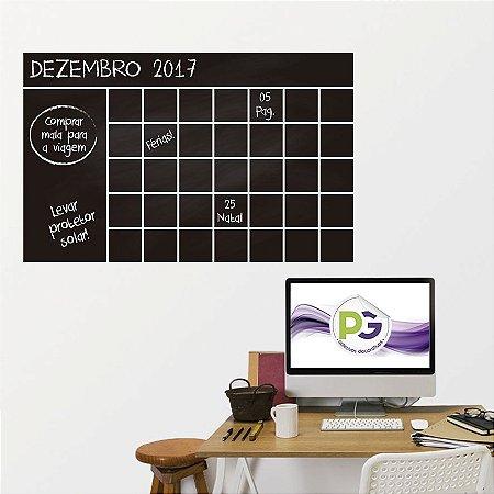 Adesivo De Lousa Formas - Calendario 03