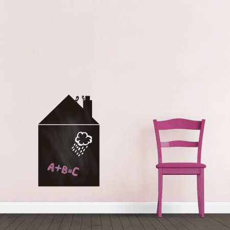 Adesivo De Lousa Formas - Casa