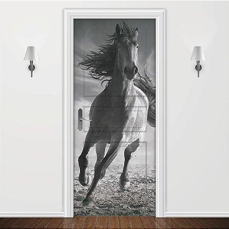 Adesivo para Porta Animais Cavalo