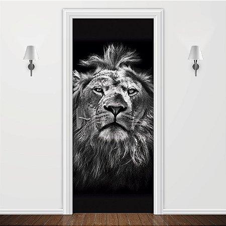 Adesivo para Porta Leão