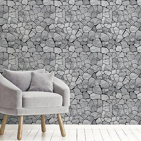 Papel de Parede Adesivo Mosaico