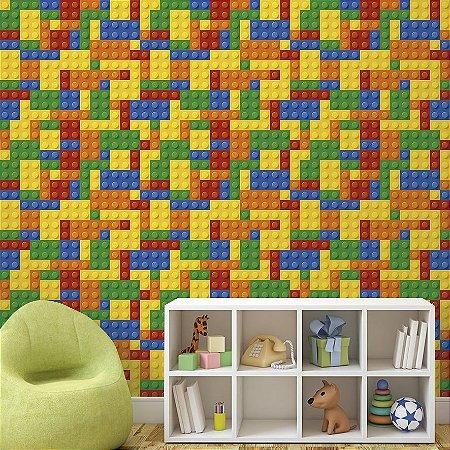 Papel de Parede Adesivo Tetris