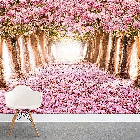Painel Fotográfico - Caminho de Rosas