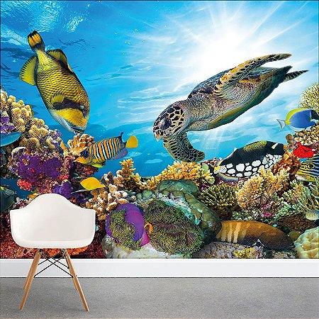 Painel Fotográfico - Fundo do Mar