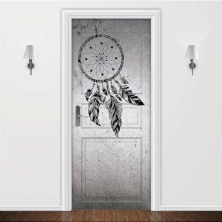 Adesivo para Porta Filtro Dos Sonhos Preto e Branco