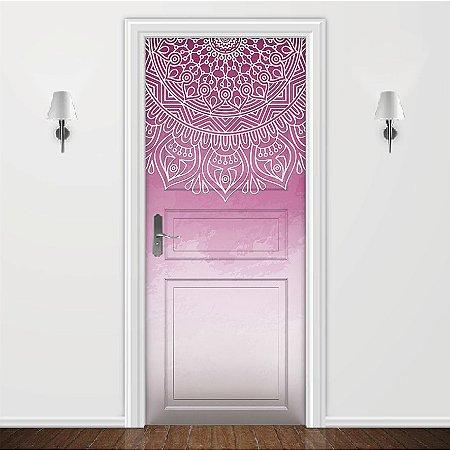 Adesivo para Porta Filtro Dos Sonhos Rosa e Branco